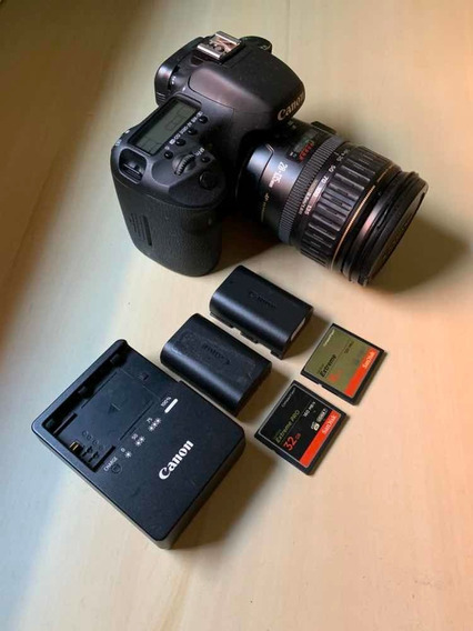 Câmera Cânon 7d Mark I (kit Completo)