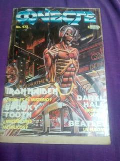 Revista Conecte No.473 Iron Maiden,jorge Reyes,rock En Leon.