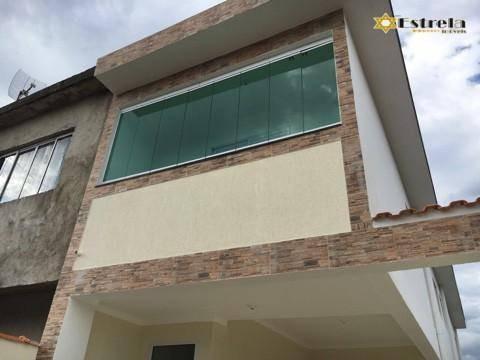 Sobrado Com 2 Dormitórios À Venda, 80 M² Por R$ 240.000,00 - Cidade Naútica - São Vicente/sp - So0431