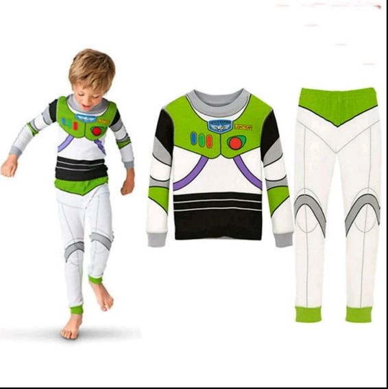 Pijama Toy Story Fantasia Herói Woody Buzz Lightyear