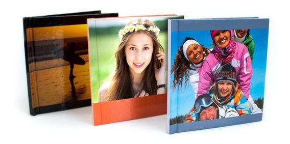 Álbum De Fotos Personalizado Fotolivro 20x20 Capa Dura 24pág