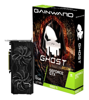 Tarjeta De Video Gainward Geforce Gtx 1660 Ti Ghost Oc 6gb