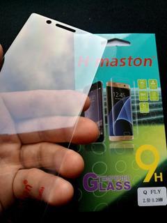 2 Películas De Vidro Celular Quantum Fly 5.2 Foto Original