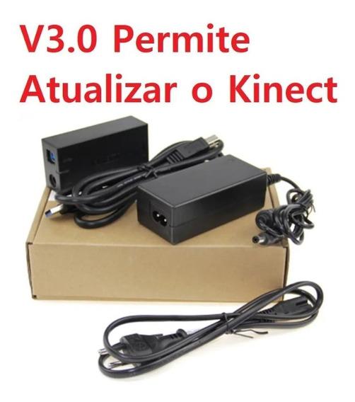 Fonte Kinect Top Adaptador Conector Xbox One S X Win 10