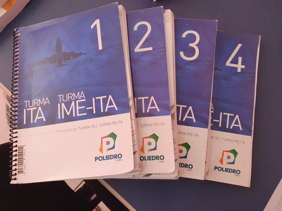 Livros Preparação Ita Ime 2018 - Poliedro
