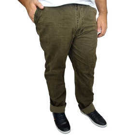 Calça Plus Size Masculina Dirty Washed Mais Pano