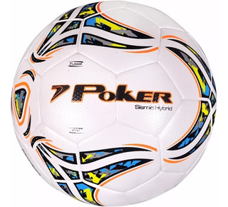 Bola Poker Futsal Sismic Hybrid P.u Profissional 50% Off