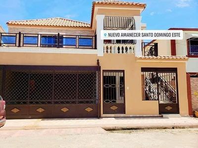 Casa De Dos Niveles En Alquiler, Autopista San Isidro