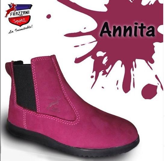 Zapatos Dama Botin Frazzani Sport Modelo Anita Talla 37
