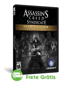 Assassins Creed Syndicate Pc Gold Edition Produto Novo Dvd