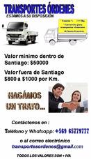 Arriendo Camión 3/4 Fletes 3500 Hasta 25 Ton