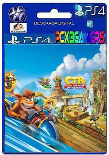 Ps4 Juego Crash Team Racing Nitro-fueled Pcx3gamers