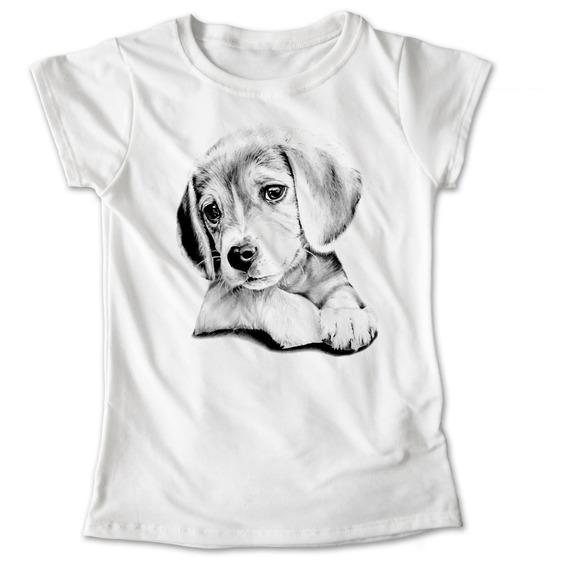 Blusa Dama Niña Beagle Perro Playera Mascota #885