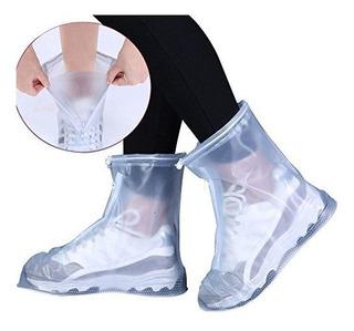 Botas Cubre Zapato Para Lluvia Impermeable Protector Calzado