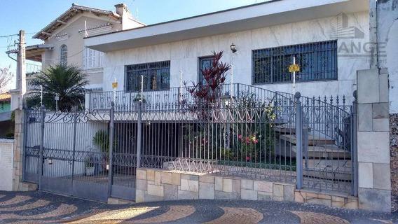 Alugo Taquaral - Bela Casa Com 3 Dormitórios Para Alugar, 239 M² - (com/resid) Campinas/sp - Ca9700