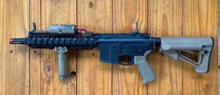 Fuzil G&p Mk18 Gatilho Eletronico M4 Airsoft Aeg