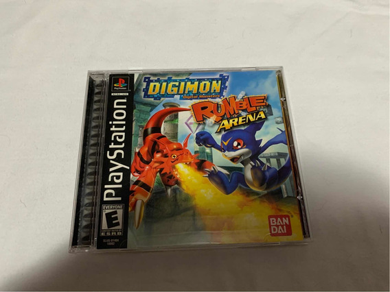Digimon Rumble Arena Ps1 Completo Americano