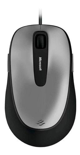 Mouse Com Fio Microsoft 4fd00025 Comfort Usb, Preto/cinza