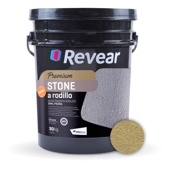 Revestimiento Stone A Rodillo Revear Acrilico 30kg - Prestigio