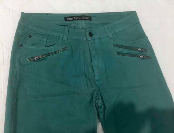 Pantalón Ona Saez Hombre Color Verde