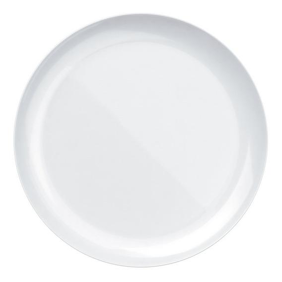 Conjunto De Pratos Duralex Opaline Blanc 27cm, Raso 12 Peças