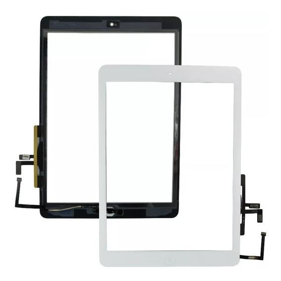 Tela Vidro Toque Touch iPad 5 Branco + Botão Home