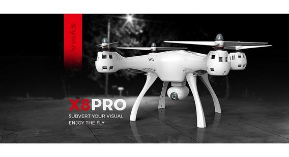 Drone Syma X8pro Gps Com Camera 720 P Wifi E 3 Baterias