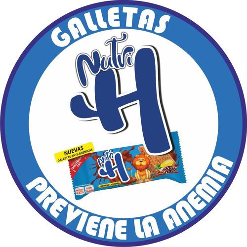 Galletas Nutri H - Previene La Anemia