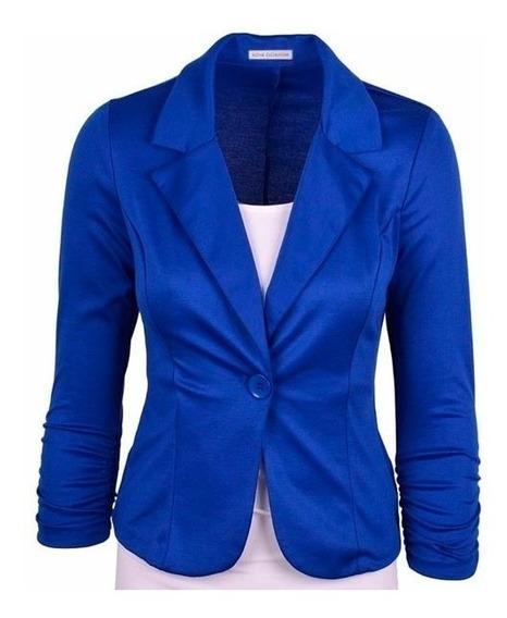 Kit 6 Blazers Femininos Fashion Bengaline