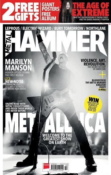 Metal Hammer - Revista De Rock Pauleira Metallica