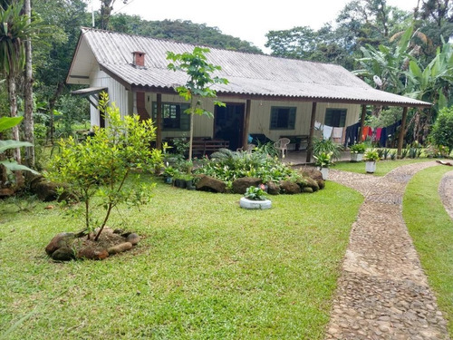 Chácara Com 4 Dormitórios À Venda, 27.390 M² Por R$ 380.000 - Fartura - Morretes/pr - Ch0141