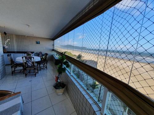 Imagem 1 de 30 de Apartamento De 3 Quartos Frente Ao Mar À Venda Em Praia Grande Com Churrasqueira Na Sacada E Lazer Completo!!! - Ap4790