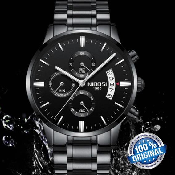 Relógio Masculino Nibosi Original Prova D