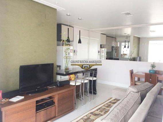 Apartamento Com 2 Dormitórios À Venda, 67 M² Por R$ 760.000,00 - Tatuapé - São Paulo/sp - Ap1756