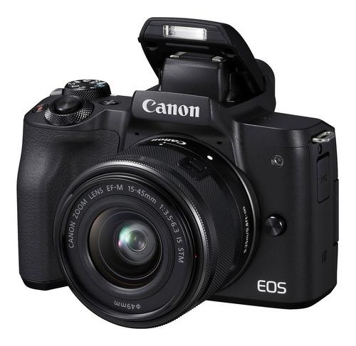 Canon Eos M50 Con Lente 15-45mm Mirrorless - Sin Espejo