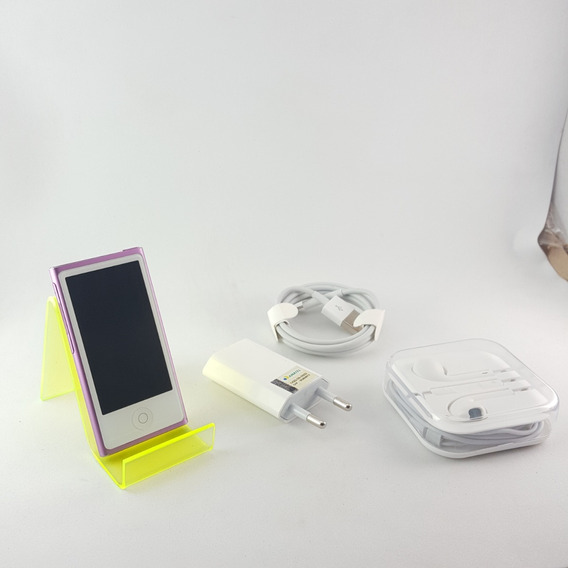 iPod A1446 Nano 7 Geração Lilas Apple Leia Vitrine
