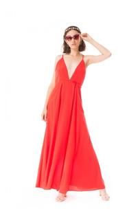 Vestido Kruger Touch Rojo Las Pepas