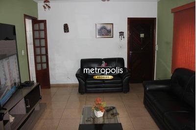 Sobrado Com 3 Dormitórios À Venda, 167 M² Por R$ 600.000 - Mauá - São Caetano Do Sul/sp - So0457
