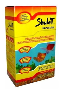 Shulet Alimento Peces De Agua Fría Escamas 2,2 Kg Goldfish