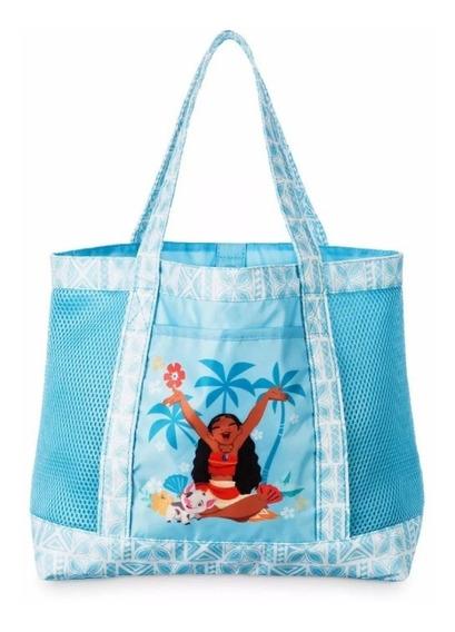 Bolsa Moana De Praia - Disney Store Original Importado