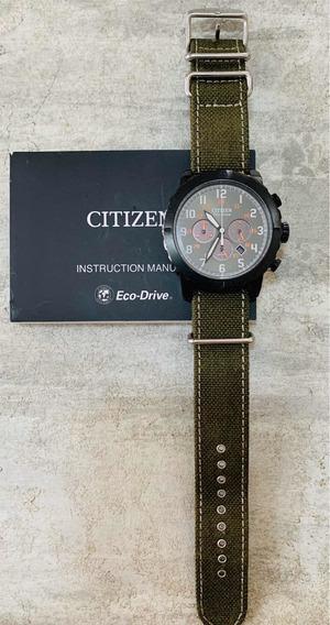 Relógio Citizen Eco-drive Militar