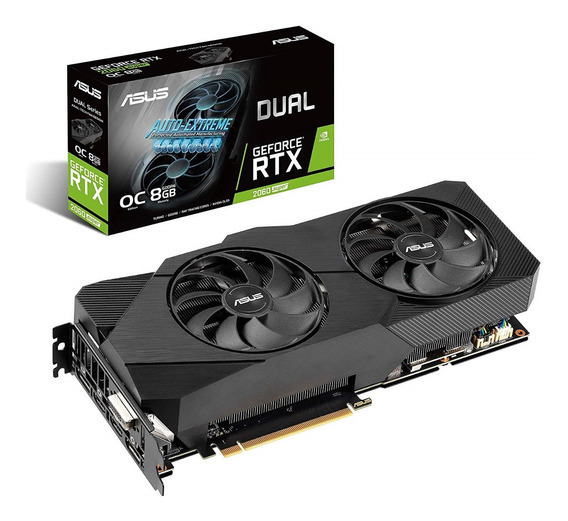 Placa Video Asus Geforce Rtx 2060 8gb Super Dual Oc 3