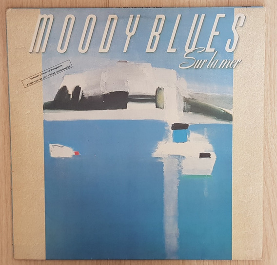 Lp Vinil - Moody Blues - Sur La Mer - Nacional 1988