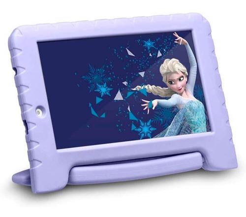 Tablet Multilaser Disney Frozen Plus Wi Fi Tela 7' 16gb