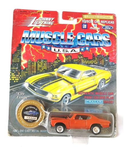 Johnny Lightning Chevrolet Chevelle Ss Metal Metal