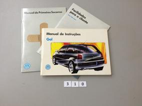 Manual Do Proprietário Vw Gol 1995 E 1996 - Original