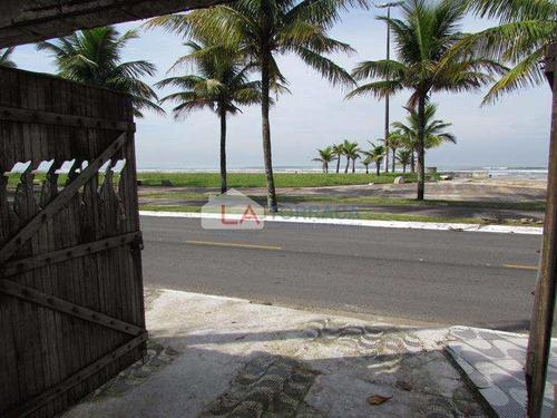 Imagem 1 de 30 de Ref 12436 - Casa Geminada - Frente Mar - 3 Dorm E Financia - V12436