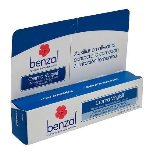 Benzal Vagisil 30 Gr 1 Tubo Crema