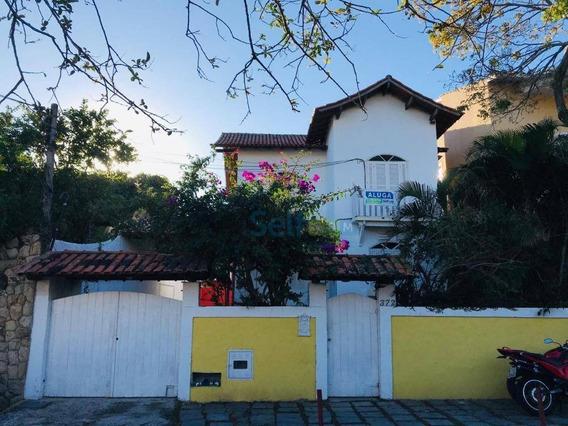 Casa Com 3 Dormitórios Para Alugar - Piratininga - Niterói/rj - Ca0117