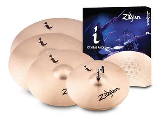 Zildjian Kit Pratos 14hh+16c+18c+20r Ifamily Pro Gig Ilhpro